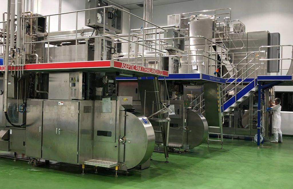 สหกรณ์โคนมไทยมิลค์ จำกัด รับจ้างผลิตนมยูเอชที